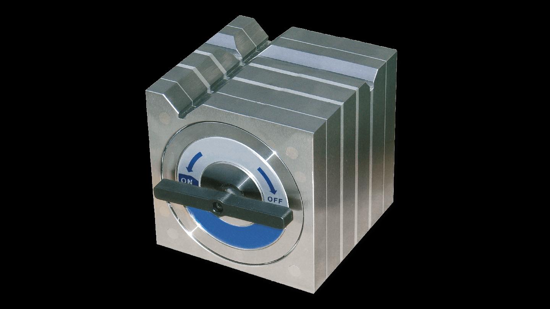 Permanent magnet spannbl cke mit haftstarkem prisma sav gmbh for K verband stahlbau